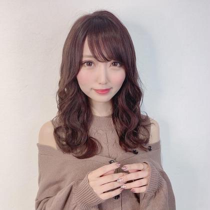 前髪カット+イルミナorアディクシーor N.+スロウ+トリートメント¥9300→¥3500