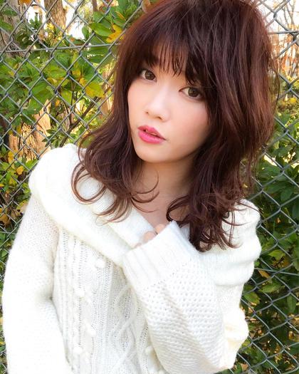 ❤️【人気NO4】❤️ゆるふわナチュラルカール→カット & パーマ