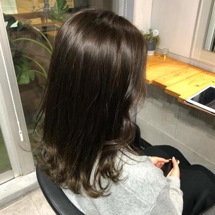 ✨1日2人限定✨ワンカラー➕最先端❣️髪質改善💕炭酸スパ付き🤍