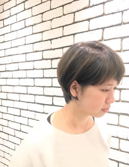 黒染めボブからの劇的チェンジ☆ Wカラーで透明感のあるアッシュに! &.Sugar所属・三浦愛美のスタイル