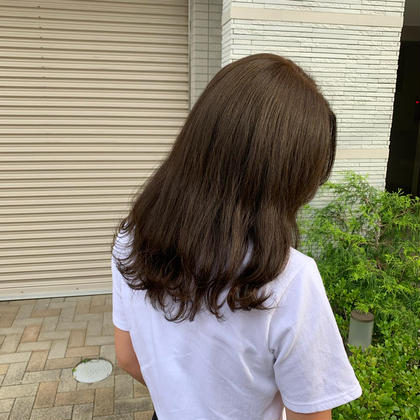 【3step潤い、ツヤ】ミストカラー+髪質改善トリートメント🧡