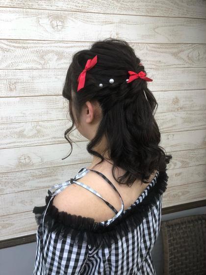 愛され♡ヘアセット 2200円