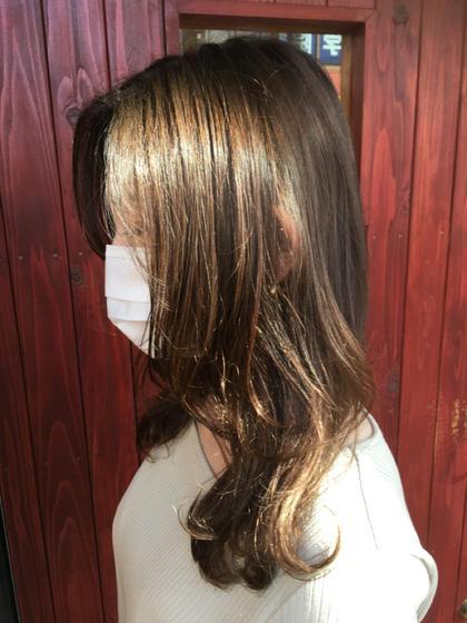 【学生の方限定】艶髪になります✨イルミナカラー+カット+炭酸泉+潤いトリートメント