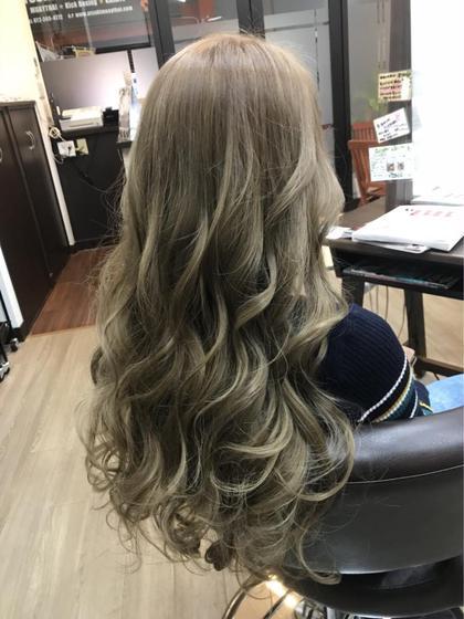 ✨外国人風✨傷まないブリーチWカラー✨+髪質改善トリートメントPPT補修