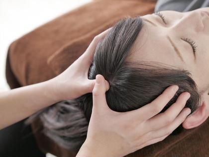 #魔法のヘッドマッサージ #頭痛緩和 #眼精疲労緩和 #首こり緩和 #ストレス緩和 #不定愁訴緩和 サロンWITH所属・サロンWITHかまち やよいのフォト