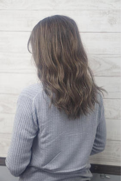 外国人風☆ミルクティベージュ HairSalonANELA所属・Hair SalonANELA【新宿】のスタイル