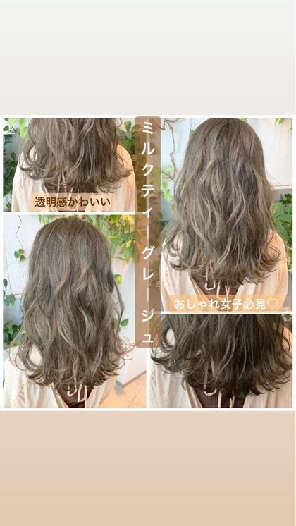 【期間限定学割U24クーポン】💐似合わせカット+オリジナルカラー+髪質に合わせて選べるトリートメント💐