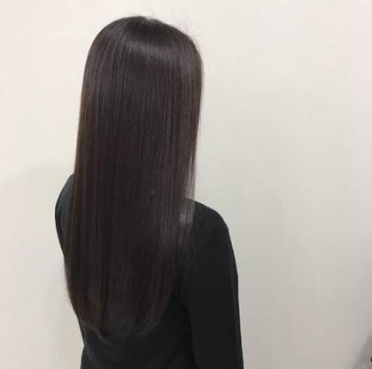 髪質改善艶カラー