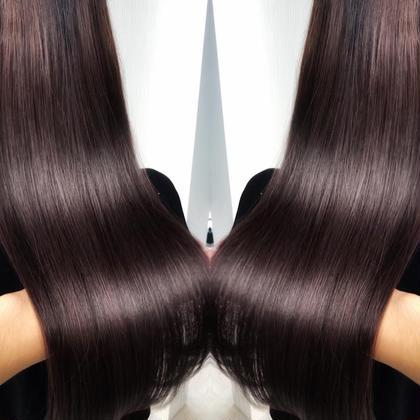 【貴方史上最高の美髪に♪】縮毛矯正美髪ストレート+似合わせカット✨¥17710→¥9900 根本的な髪質改善で綺麗な髪に