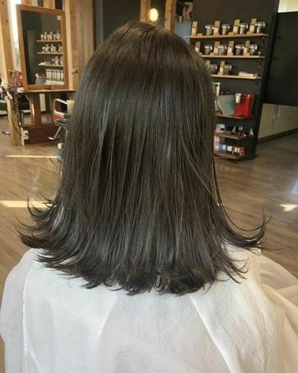 グレージュは安定の可愛さですよね✨ hair&spa CHEEGO所属・倉橋渉のスタイル
