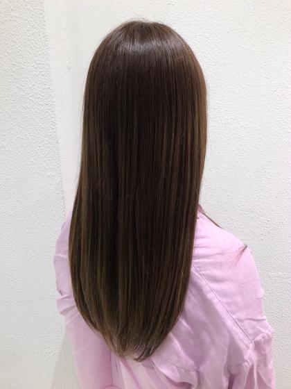 柔らかく自然な手触りに‼️いつもの縮毛矯正とは別格‼️髪質改善トリートメント縮毛矯正🤙🏽