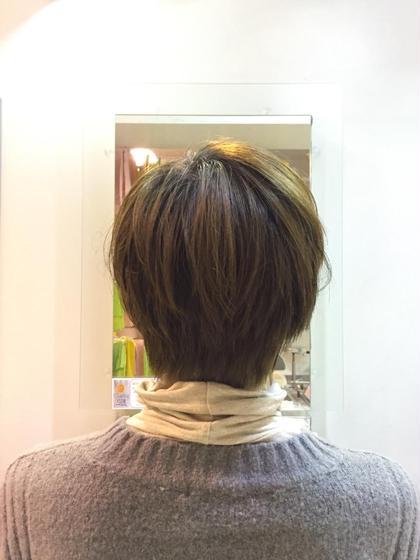 すっきりショートスタイル✩ Amour二子玉川所属・高橋麻衣のスタイル