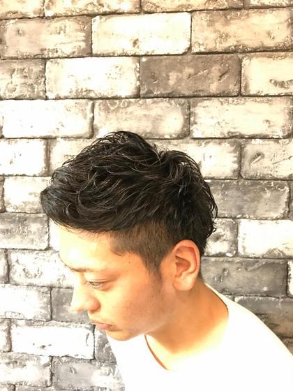 メンズOK✂️似合わせカット✂️+ダメージレスパーマ❣️美容室専用シャンプートリートメント付き✨