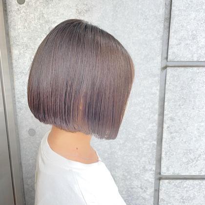 【✨トレンドヘア✨】カット+艶カラー+ハホニコTR1STEP