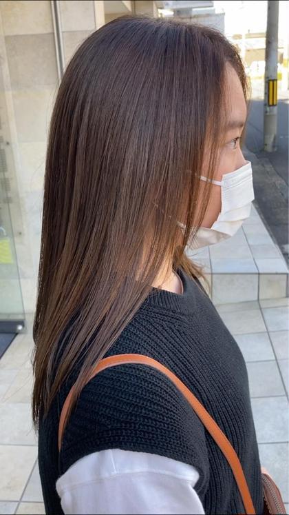【より艶髪になりたい方におすすめケアつきメニュー☺️✨】カット➕プラチナアクア
