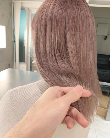 【ミニモ限定価格】髪質改善トリートメント+カラー