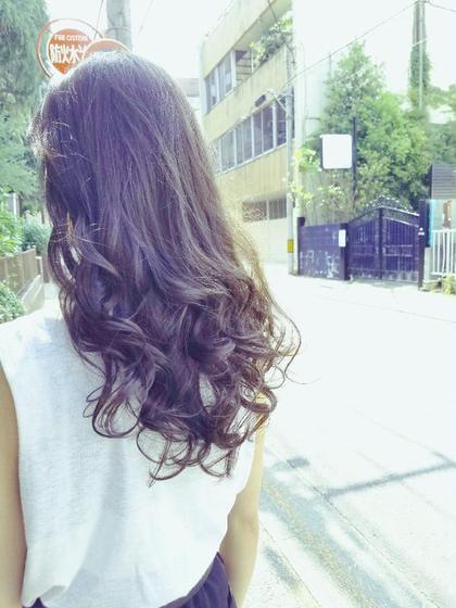 毛先にたまるカールと大人アッシュがキレイなスタイル ayako ☆のスタイル
