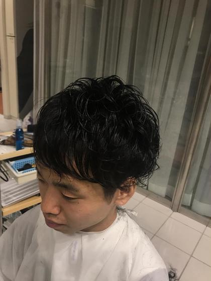 適当にバサバサするだけでスタイリング可能!朝のヘアセット面倒な方へオススメ マッシュ  KISEI幸町所属・さとうりさのスタイル