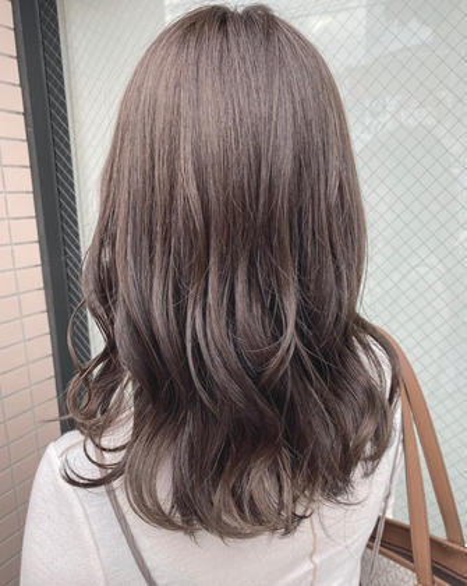 🤍前髪カット➕フルカラー🤍