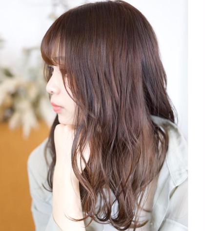 《4月限定》カット+カラー+シャンプー+キューティクル補修トリートメント¥12200→¥8000