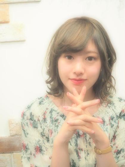 【黒髮!卒業カラー☆】ヘアカラー & キュアトリートメント