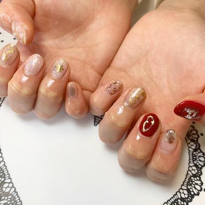 Lulu nail所属の佐藤晴のネイルデザイン