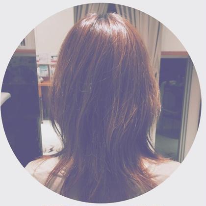 くびれを作ったふわミディアム♡ イッツヘアーガーデンリュクス所属・Itoharucaのスタイル