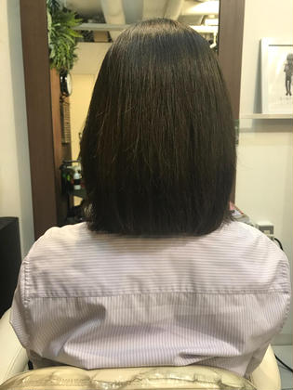 ちょっと長めのボブスタイル bauhaus hair所属・小沼優太のスタイル