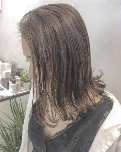 ケアカラー&髪質改善トリートメント