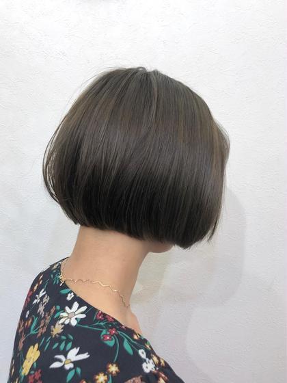 【気になる部分だけ自然に】前髪・部分ストレート(縮毛矯正)&カット&うる艶トリートメント