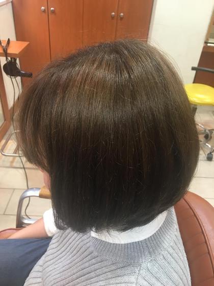 ブリーチで傷めた髪も、トリートメントでサラツヤに☆ neolive aim (ネオリーブ アイム)所属・マエサカアリサ *のスタイル