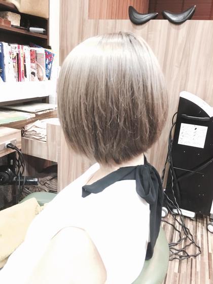 ホワイトアッシュ Hair Salon Be-one所属・田中陸のスタイル
