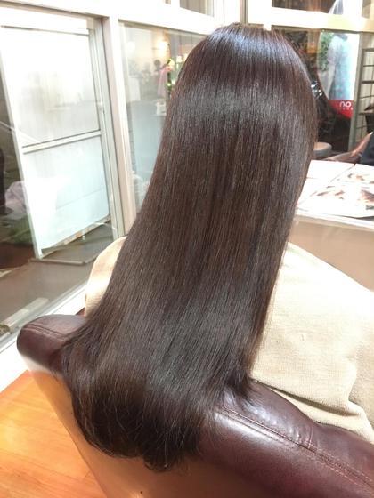 この秋ぴったりのピンクcolourです(*˙˘˙)♡ hair  & spa an contour所属・足立依世のスタイル