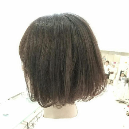 カット+オイルオーガニックカラー+トリートメント TAYA広島本通店所属・岩崎美志のスタイル