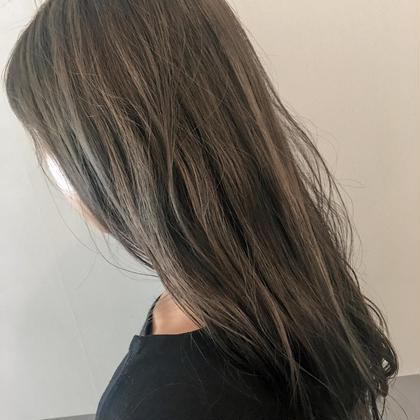 :::💜髪質改善トリートメント💜::: ブリーチなし!透明感カラー+ケラスターゼトリートメント