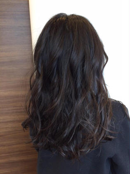 alpha hair salon九大学研都市店所属・大川由起子のスタイル