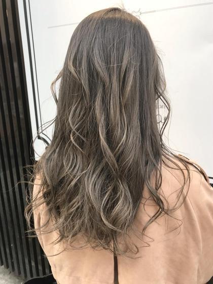 【脱・日本髪】ハイライト+艶カラー+トリートメント