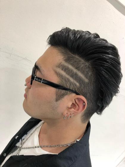 男らしいワイルドなスタイルです💪