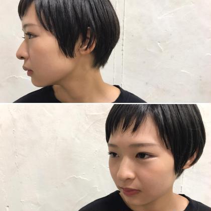 その他 カラー ショート Real salon work✂︎ [ショートマッシュレイヤー✂︎] . マッシュで柔らかさと丸み。 でもバランスは大人めに。 . 前髪は、 ナナメ束感bangでかわいくstylishに✂︎ . . ダークアッシュcolorで、 黒髪でなく暗髪✔️ . さりげないトウメイ感を☆ . . . #NAKAIstyle #ヘアスタイル#ショートマッシュ#レイヤー#カット#ショートヘア#カラー#ダークアッシュ#ブリーチなし#暗髪#大人カラー#ファッション#ootd#ハイカジュアル#お客様カットカラー
