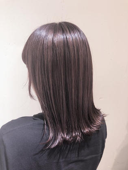 🤎新規限定🤍 透明感カラー+髪質改善トリートメント_¥5000