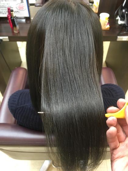 髪質改善縮毛矯正✨ 💘髪質改善No1.LetizbyONE's💘所属・⭐️髪質改善美容師スズキカノト⭐️のスタイル