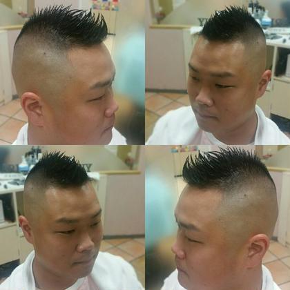 barber shop TONY所属・森崎喬のスタイル