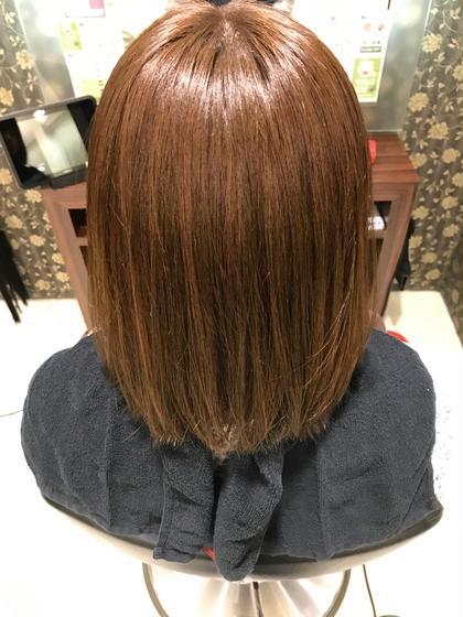 アッシュベージュ✨ hair & make earth 調布店所属・富田尚樹のスタイル