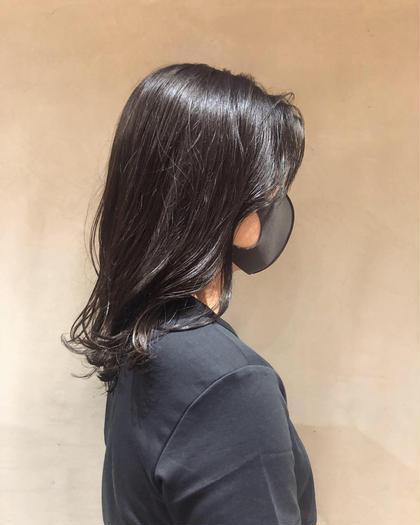 💍人気No. 1髪質改善menu💍小顔カット+イルミナカラー+最高級TOKIOトリートメント【3回目以降11000】