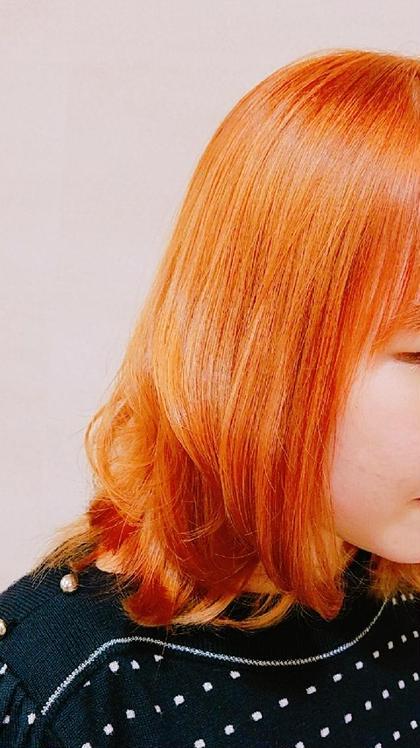 ビタミン★オレンジカラー ma'am Zee経堂店所属・木村秋穂のスタイル