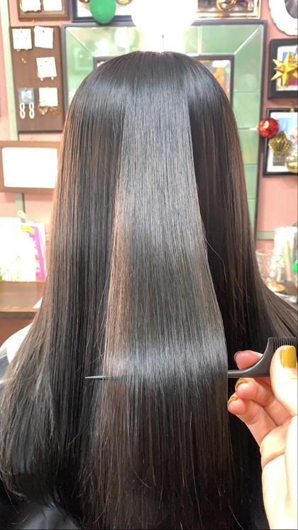 《髪質改善トリートメントサイエンスアクア》+カット+カラー