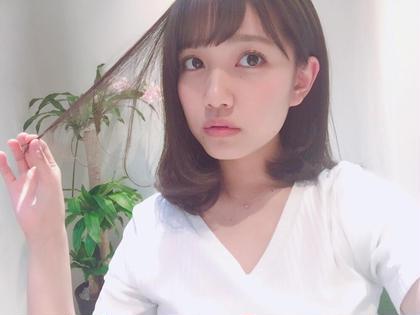 ミディアム AKB48   加藤玲奈様   イルミナカラーTOKIOトリートメント