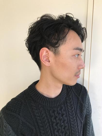 杉本佳奈のメンズヘアスタイル・髪型