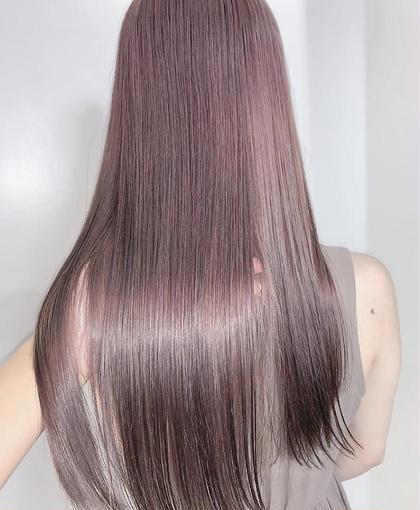 【人気No.3 髪質改善で艶さら💫】髪質改善カット+イルミナカラー+髪質改善N.酸熱トリートメント💎✨