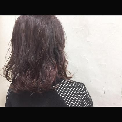 カラー セミロング ミディアム Real salon work✂︎ [シングルカラー⭕️ピンクグレージュ]  ノンブリーチ⭕️ピンクベースにグレーをmixでピンクをイマっぽく☆ 仲井のイチオシカラー✔️✔️ . #NAKAIstyle #カラー#ピンクグレージュ#ピンク系カラー#脱アッシュ#ブリーチなし#シングルカラー#グレージュ#ブルージュ#大人のカラー#ボブ#お客様カットカラー